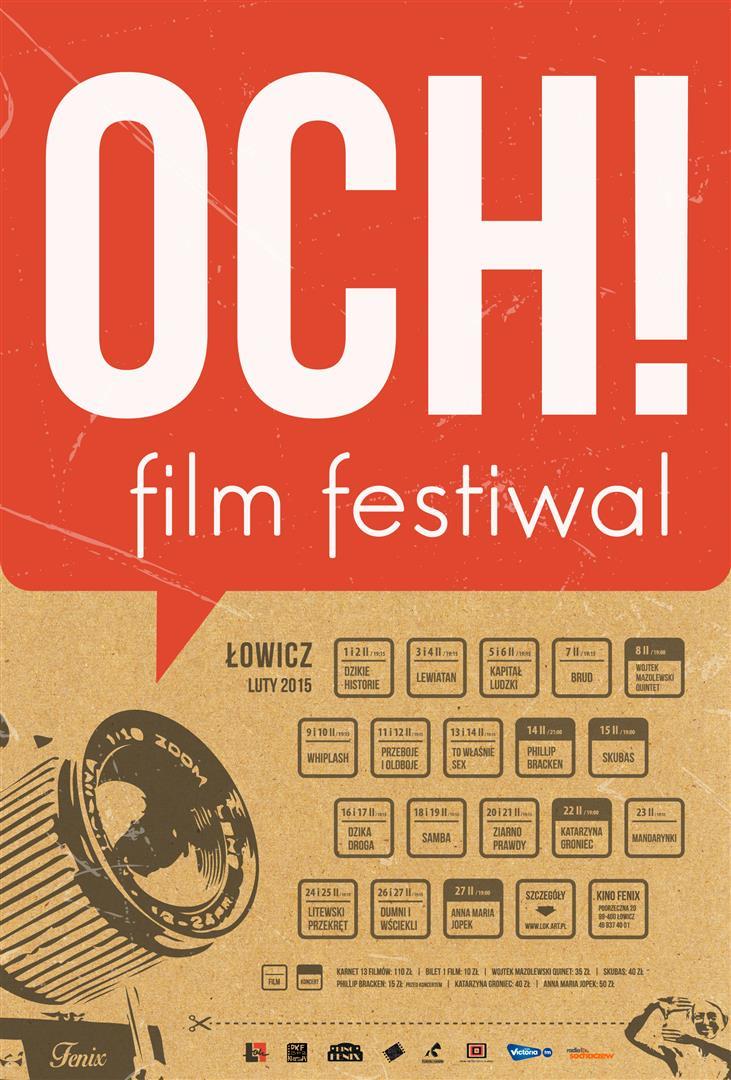 OCH! Film Festiwal 2015
