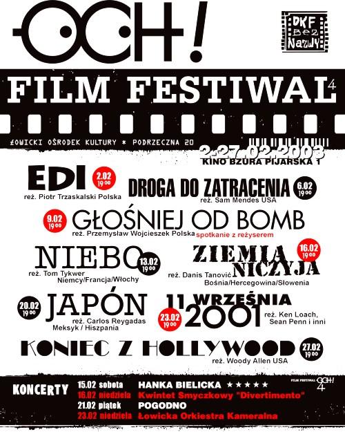 OCH! Film Festiwal 2003