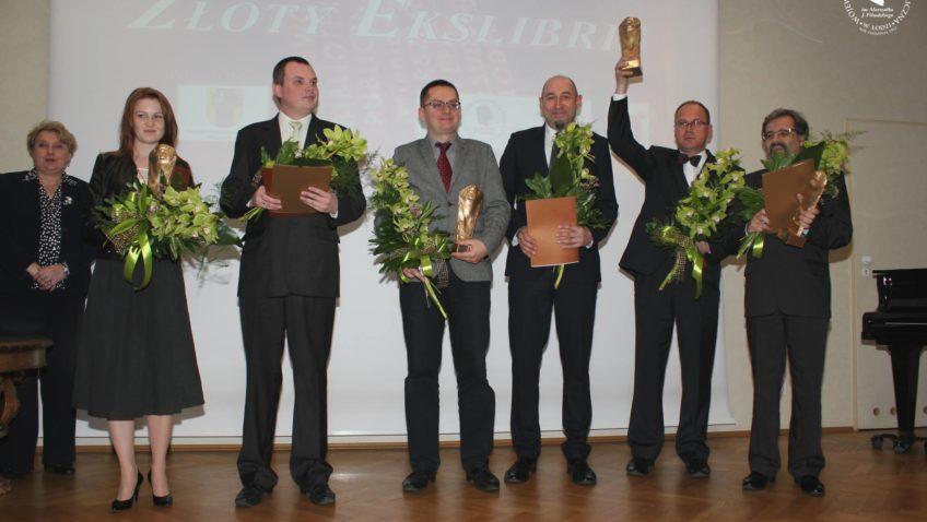 Wręczenie Nagród Złoty Ekslibris iSuperekslibris