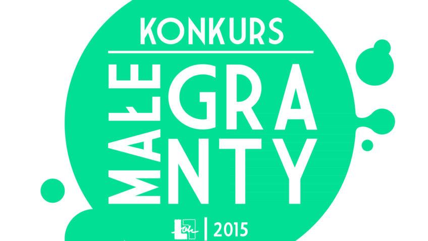 Małe Granty 2015 – wyniki