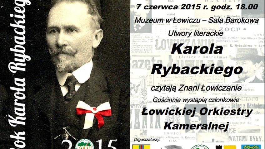 Wieczór Literacki Karola Rybackiego
