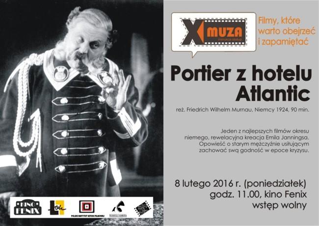 X MUZA – FILMY, KTÓRE WARTO OBEJRZEĆ IZAPAMIĘTAĆ 8 II 2016
