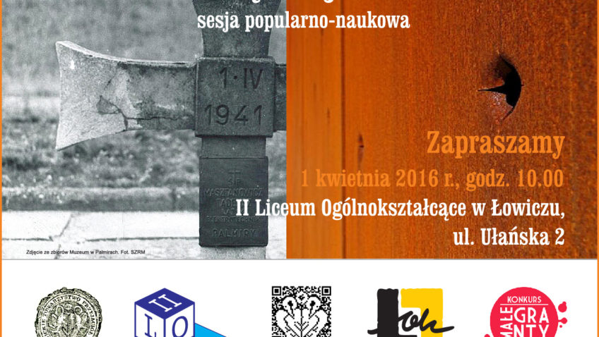Sesja popularno-naukowa. 75. rocznica Akcji AB w Łowiczu   1.04