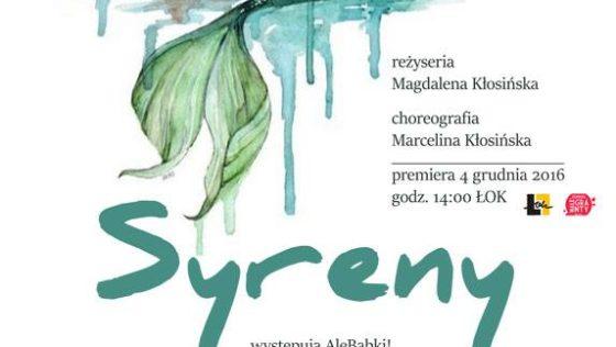 Finał projektu Wirujący Senior 2 – spektakl SYRENY 4 XII