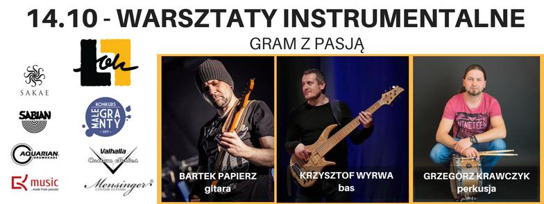 WARSZTATY INSTRUMENTALNE – GRAM ZPASJĄ /14 X