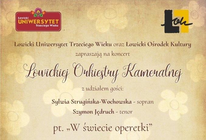 Koncert Łowickiej Orkiestry Kameralnej 8 III