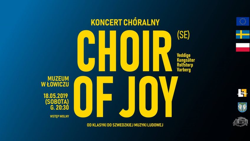 Koncert Choir Of Joy (Szwecja) 18 V