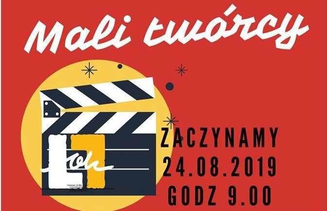 """""""Mali Twórcy""""- warsztaty w ramach projektu """"Od Was dla Was""""   24 VIII"""