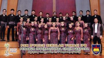 Koncert BMZ – Chór D'Voice Sekolah Vokasi IPB Bogor (Indonezja) 17 XI