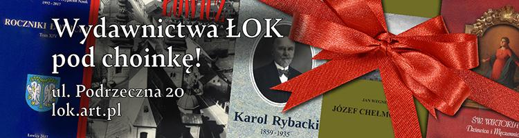 Wydawnictwa ŁOK pod choinkę !