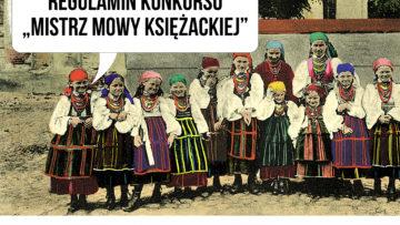"""Konkurs """"Mistrz mowy księżackiej"""" IX-X 2020"""